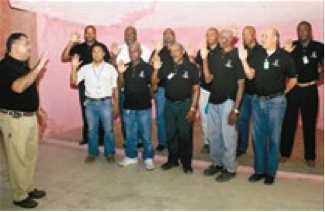 CAEI Swears in New Security Committee